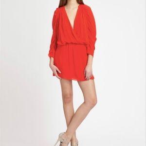 Parker 100%Silk Minidress